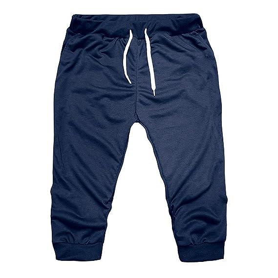 STRIR Pantalón Corto para Hombre - Pantalón Corto Tipo Cargo ...