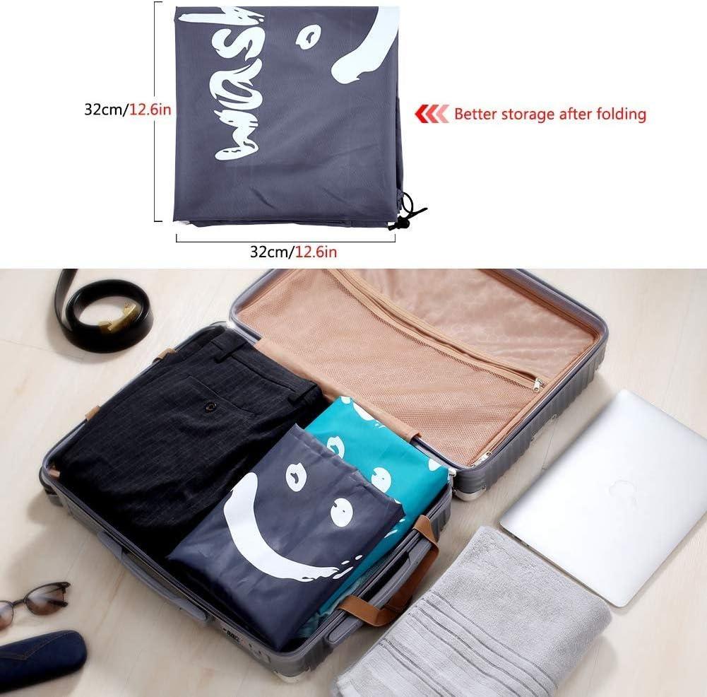 sac de rangement h sac de voyage sac /à linge avec cordon de serrage env 60 cm Cleano Wash Me l 120 L sac de rangement Grand sac /à v/êtements sac en tissu x 90 cm Sac /à linge noir
