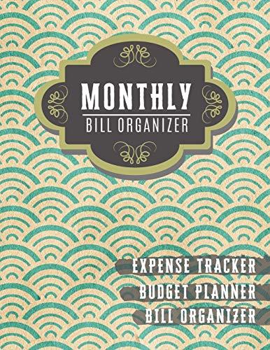 Monthly Bill Organizer: money management planner