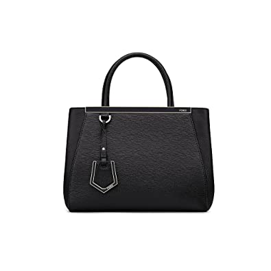 894fa59a9485 Fendi Women Handbag Petite 2Jours Black Elite Calfskin  Handbags ...