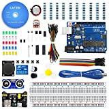 #7: LAFVIN The Basic Starter kit for Arduino with UNO R3, Breadboard, LED, Resistor,Jumper Wires and Power Supply