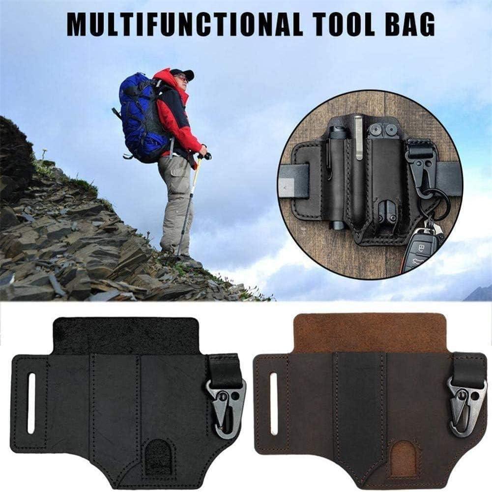 HTYA Multitool Leather Sheath EDC Pocket Organizer
