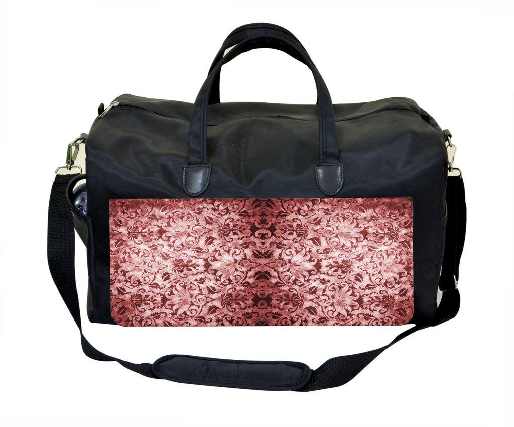 Jacks Outlet Vintage Brown Damask Gym Bag