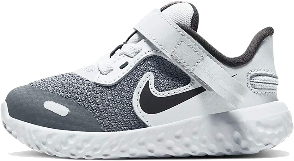 reflujo choque Santo  Amazon.com: Nike Revolution 5 Flyease (TDV) Zapatos para bebé/niño  Cq4651-090, Gris, 6 bebé mayor: Shoes