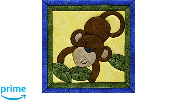 Quilt Magic QM181 Sew Wall Hanging Kit-Monkey