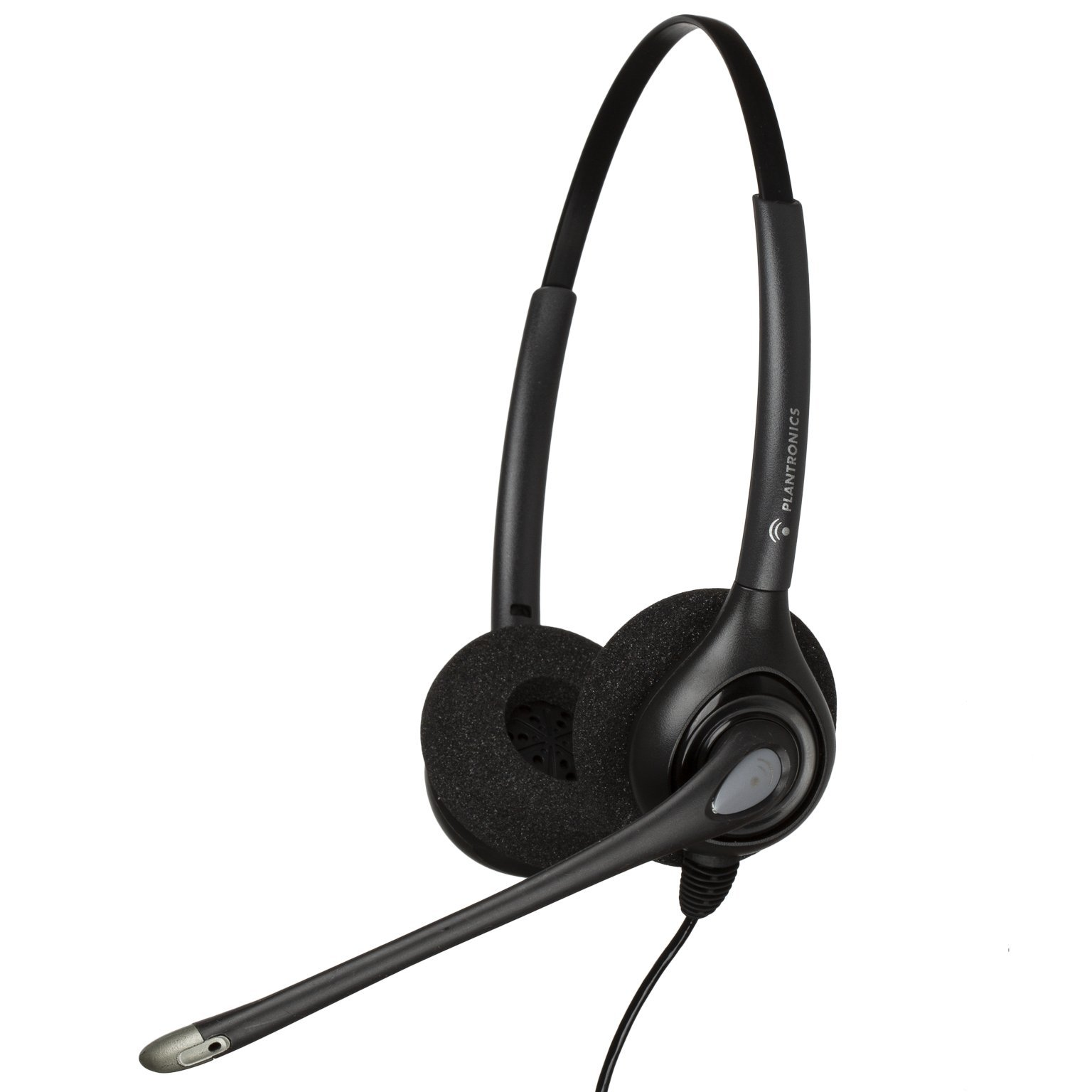 Plantronics HW261N Quick Disconnect Binaural Headset (Certified Refurbished)