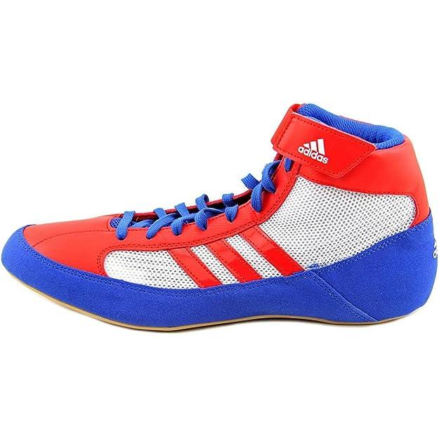 size 40 4a53f f3f8e Adidas Hvc lacées Wrestling Chaussures - 14 - bleu  rouge  blanc  Amazon.fr Chaussures et Sacs