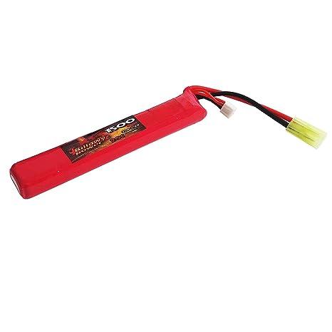 billowy power  Batteria Lipo soft Air Softair 1500 mAH Ricaricabile Airsoft Billowy ...