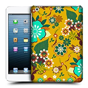 Head Case Designs Harvest Gold Botanical Ornament Hard Back Case Cover for Apple iPad mini