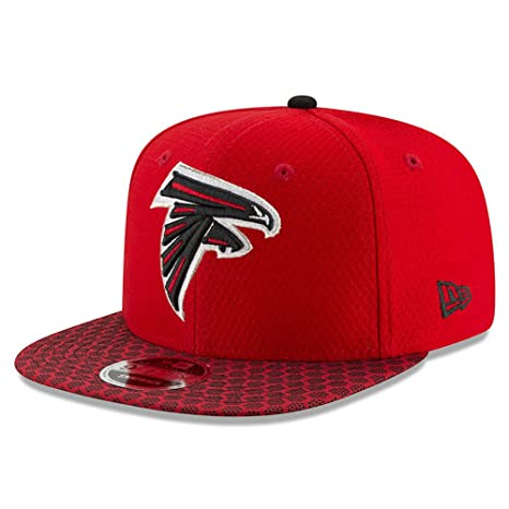 a3e0f793d Image Unavailable. Image not available for. Color  New Era Atlanta Falcons  2017 NFL 9Fifty Sideline Adjustable Snapback Hat
