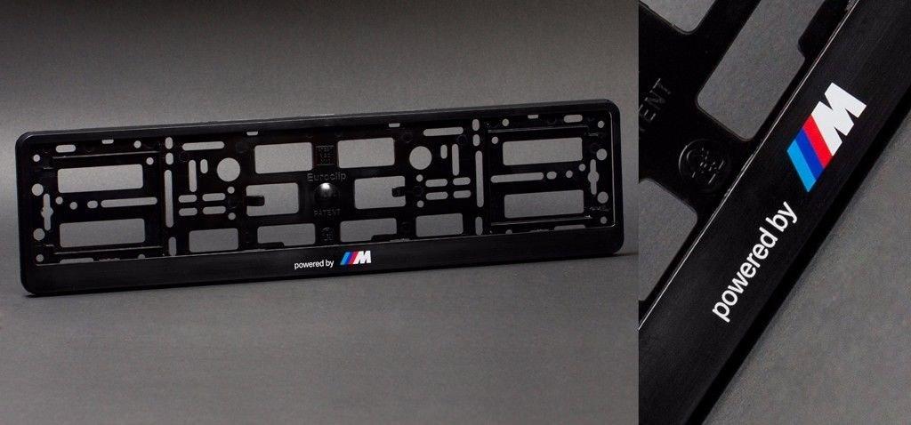 E36 E34 E30 F30 E46 F32 E90 M6 E70 M5 Coppia di porta-targhe per M3 E53 F10 E39 E92