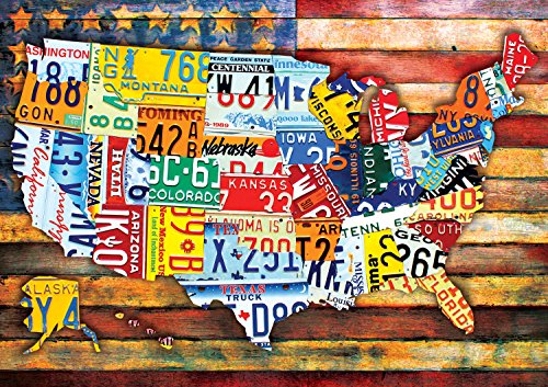 Buffalo Games - Road Trip USA - 300 Large Piece Jigsaw -