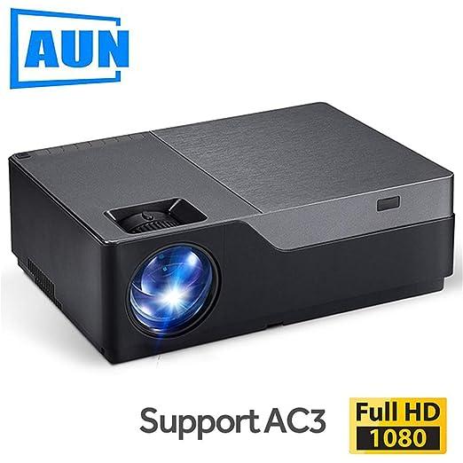 AINGOL Proyector de Video, Full HD LED Projector con resolución de ...