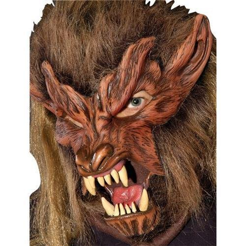 (Lone Wolf Moving Mouth Action Mask)