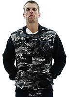 MO7 Men's Sweater Fleece Varsity Jacket