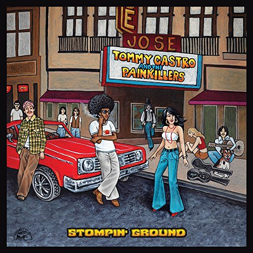Tommy Castro and The Painkillers - Stompin Ground - (ALCD4978) - CD - FLAC - 2017 - HOUND Download