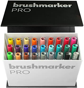 30 Pack Fieltro Punta Plumas Dibujo Rotuladores Pintura Colorante Arte Escuela vendedor del Reino Unido