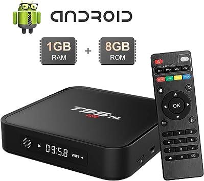 Android TV Box T95M Android TV Box 1GB RAM / 8GB ROM Amlogic S905X Quad Core TV Box 2,4 GHz WiFi 4K HDMI Smart TV Box