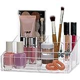 Clear Plastic Vanity Makeup Organizer