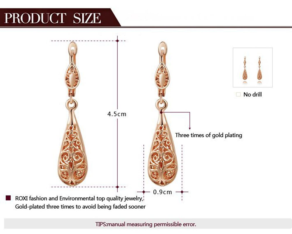 flower gold unique girl fine carven for drop amazon men fashion hooks hoops com women vintage jewelry earrings dp water rose studs