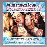 Karaoke 100 Canciones De Tus Artistas Favoritos Cd + G