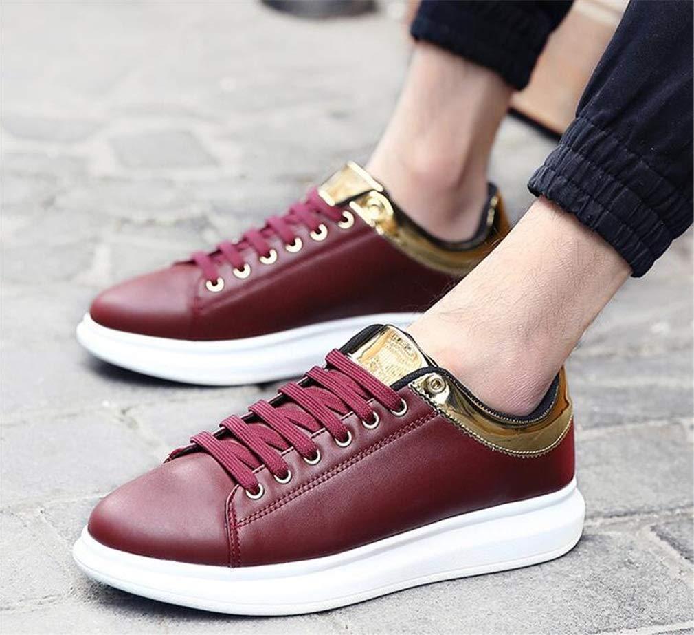 Exing damen Schuhe Schuhe Schuhe New Wild Deck Schuhe Männer Frauen Höhe erhöhen Turnschuhe Fashion Lovers Casual Sportschuhe Lace-Up Laufschuhe (Farbe   C, Größe   37) B07GVDS8D4 Tennisschuhe Helle Farben 0370a1
