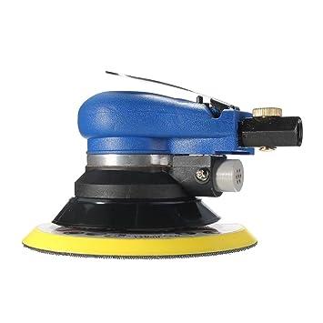 FLAMEER 6 Pulidora Orbital De Aire Lijadora Neumática Para Pulir Discos Pulido Lijado