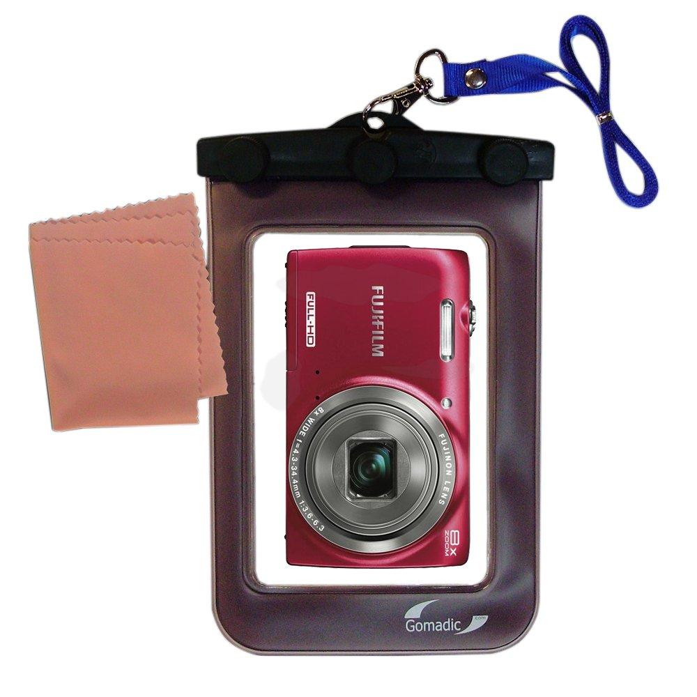 軽量水中カメラバッグSuitable for the Fujifilm FinePix jz700防水保護   B00E67QZS4