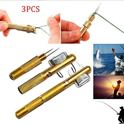 Portable Practical Knot Line Tying Knotting Fast Fishing Tool Hooking Device