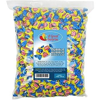 Dubble Bubble Bubble Gum, Original Flavor, 4 Lb Bulk Candy 1