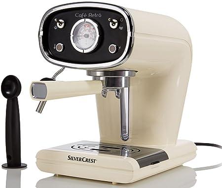 Silvercrest® Cafetera expreso semr 850 A1 beige: Amazon.es ...