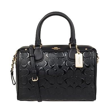 Coach Women s Hand shoulder bag F11920 (black)  Handbags  Amazon.com cad514b268