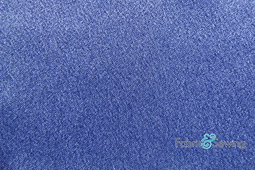 Dusty Blue Crepe Back Satin Fabric Polyester 7.5 Oz 58-60