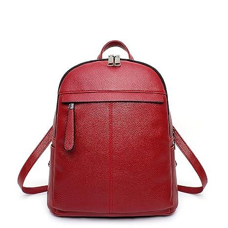5823a39eace G-AVERIL GA1171-H - Bolso mochila para mujer rojo Red  Amazon.es ...