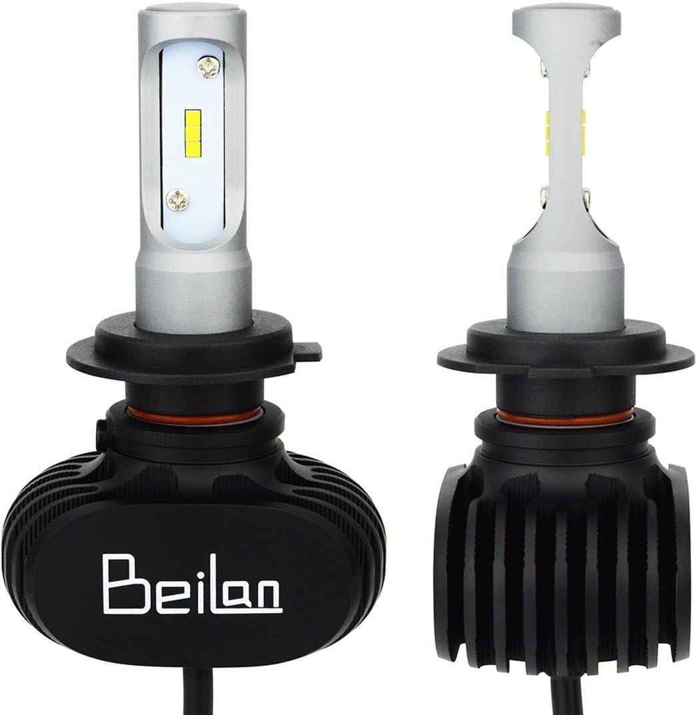 Dacia Logan MCV 55w Super White Xenon HID High//Low//Side Headlight Bulbs Set