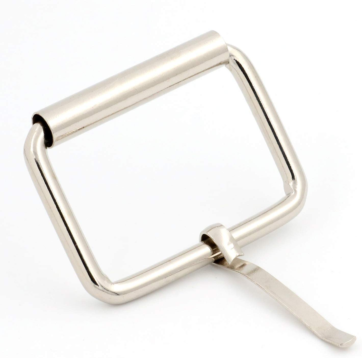 Pack of 10 and Belt Straps Collars Silver BIKICOCO 1-1//2 x 1 Roller Pin Belt Buckles Non Welded for Bags Shoes