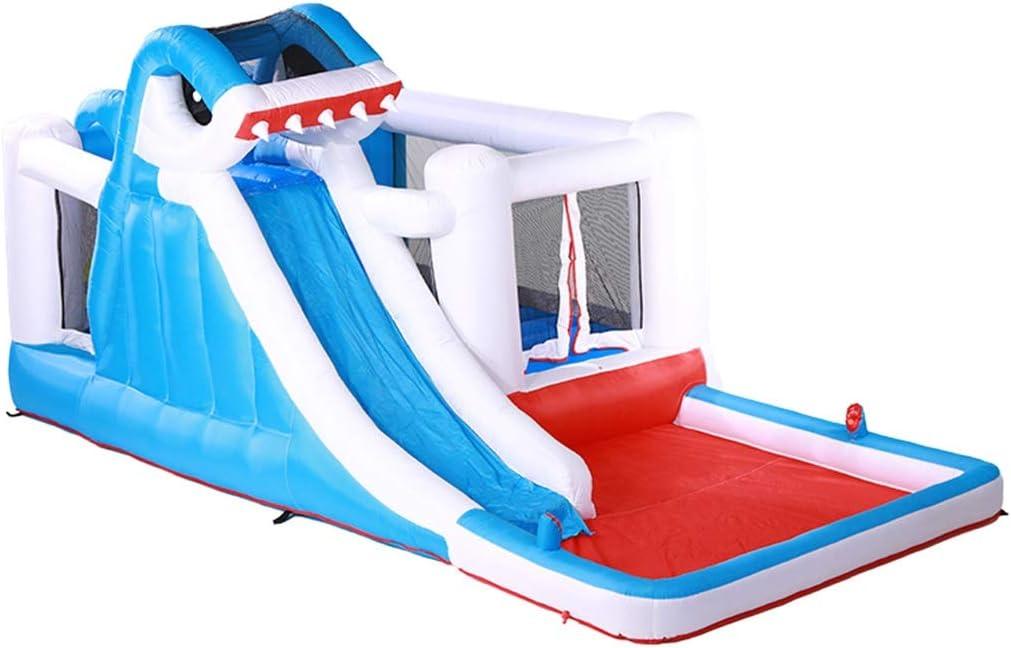 Castillo Inflable para niños Parque acuático Infantil Tobogán al Aire Libre Cama elástica para niños Piscina para niños al Aire Libre Juguete Grande al Aire Libre Bañera para niños