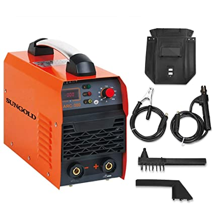 Sungoldpower - Soldadora inverter ARC Welder con pantalla digital LCD LED, CC, 200 A