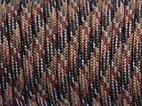7 Strand Core 550lb Paracord Parachute Cord Lanyard Mil Spec Type III-100ft (Dream Brown(96#))