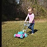 Sunny Days Entertainment Bubble-N-Go Toy Lawn Mower with Refill Solution | Pink Bubble Blowing Toy  - Maxx Bubbles