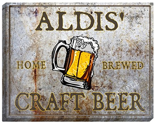 aldis-craft-beer-stretched-canvas-sign