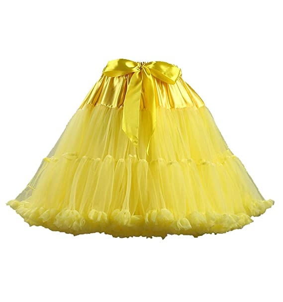 95ed050c65 ISSHE Falda Tul Capas Faldas de Tul Falda Capa Tutu Mujer Disfraces con Tutu  Tutus para Adultos Disfraz Adulto Tutú Pettiskirt Volantes Tulle Ballet  Cortas ...