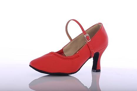 626b6a0b82 ShangYi Scarpe da ballo moderne con tacco alto da donna Scarpe da ...