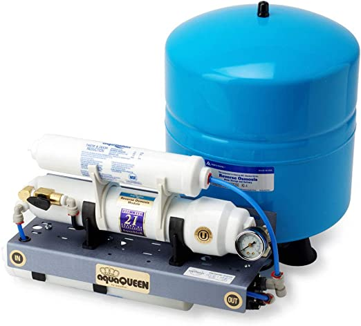 Pure H2O sistema de purificación de agua de ósmosis inversa (RO) – descarga manual: Amazon.es: Hogar