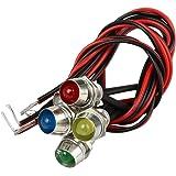 CARCHET® 5 X LED Indicateur Ampoule Lampe Multicolore Pour Voiture Bateau