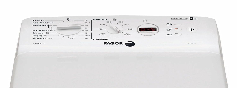 Fagor FGT-5312 - Lavadora (Independiente, Color blanco, Superior ...