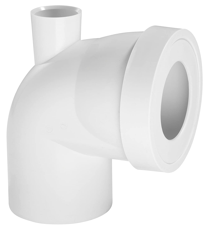 Wirquin 71020201 Pipe rigide courte coudé e mâ le Diamè tre 100 mm + Piquage F