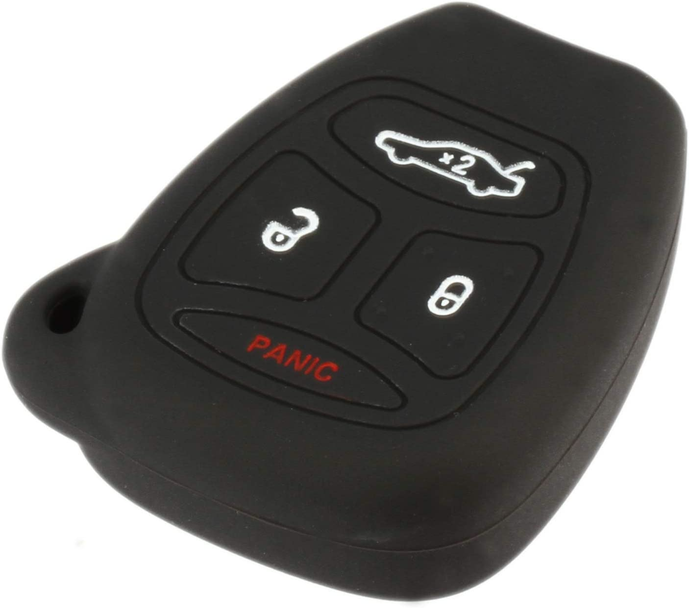 fits 2005-2009 Chrysler Dodge Jeep Key Fob Remote Case Cover Skin Protector