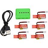 GoolRC Batería Litio 3.7V 150mAh 30C para JJRC H8 Mini RC Drone 5Pcs