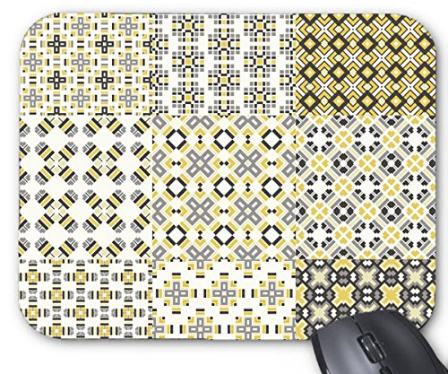 Mouse Mat Geometric Pattern Background Collection Creative Mouse Pad 11.8X9.8 Inxh